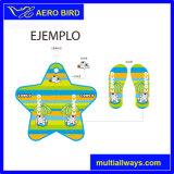 EVA suave Calzado Zapatilla con la impresión colorida para regalo
