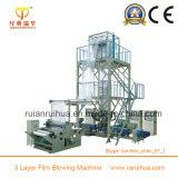Máquina de sopro do plástico da fatura de película da co-extrusão