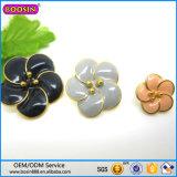 광저우 공장 파란 다이아몬드를 가진 최신 판매 꽃 목걸이