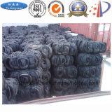 Equipamento da destilação Using os pneumáticos Waste para produzir o preto do combustível e de carbono