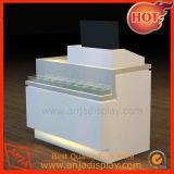 Contador Recepção moderno design branco para escritórios e hotéis