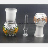 De Waterpijp van het gebrandschilderd glas van Vrouwelijke Mond 14.5mm, 18.8mm Glas