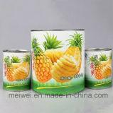 Ananas inscatolato in sciroppo chiaro