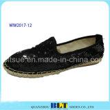 Nouveau design paillette chaussures occasionnel de la marque supérieure