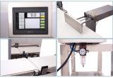 Vérifier peseur combinaison du détecteur de métal et de la machine