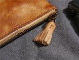 Vintage Vegatable Coin de la carte carte de portefeuille en cuir tanné Coin Pourse