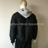 Logotipo bordadas personalizados e jaqueta Windbreaker Impermeáveis para homens