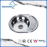 Tazón de una sola Cocina fregadero de acero inoxidable (AEC5350)
