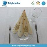 Бело/пинки/желто цветы/зелено цвета/черно напечатано 50g-90g бумаги Airlaid