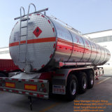 45cbm Aluminum Alloy Oil Tank Semi Trailer