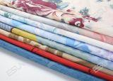 Tela de algodão Qm501 do poliéster do colchão