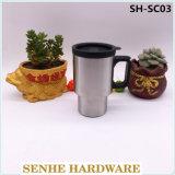 16oz двойные стенки кружки кофе из нержавеющей стали (SH-SC03)