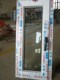Diseño económico único panel UPVC ventana toldo para wc