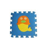 Couvre-tapis denteux imperméables à l'eau colorés de puzzle d'animaux d'EVA pour l'usage éducatif