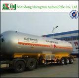 3 ESSIEUX 58.8cbm réservoir de transport de gaz GPL semi remorque de camion