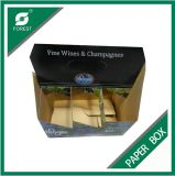 주문 Print Corrugated Wine 또는 Beer Bottles Package Box