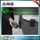 Il raccoglitore di obbligazione RFID che ostruisce la scheda protegge le vostre informazioni personali