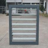 Janela de obturador de vidro de alumínio com bloqueio de manivela K09016