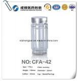 Leere Plastikmedizin-zylinderförmige Flasche für Verkauf