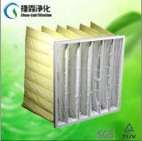 G4, F5, F6, F7, F8, media de filtro Pocket no tejidos del sintético F9