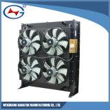 A12V190-1320-2p de aluminio personalizado el agua del radiador de refrigeración