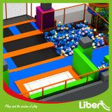 Fabricant d'intérieur de parc de trempoline utilisé par natte colorée de saut