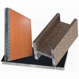 Panneau en fibre de bois en aluminium et panneaux en nid d'abeille en bois