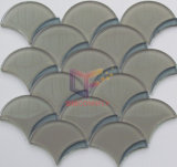 Peixe Scale Water Jet Cutting Crystal Mosaic Tile (CFW61)