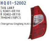 Lampada di coda per Hyundai I10 2011 (92402-0X110/92401-0X110/92402-0X100/92401-0X100)