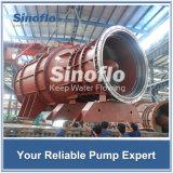 Pompe de flottement submersible lourde d'écoulement axial de pompe d'hélices