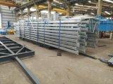 Estructura de acero para construcción permanente