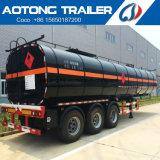 3 Semi Aanhangwagen van de Tank van assen de Chemische Vloeibare voor Verkoop