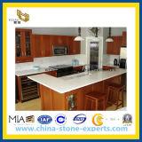 Pur / Blanc Carrara Quartz comptoir pour cuisine et salle de bains (YQ -QC 001)