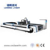 Shuttle Plateform волокна лазерный резак для пластины и трубопроводы Lm3015am3