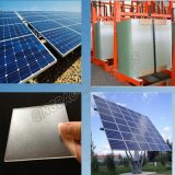 vidro Tempered transparente Photovoltaic de painel solar de 3.2mm
