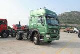 판매 (ZZ4187S3511W)를 위한 4X2 Sinotruk 371HP HOWO 트랙터 트럭