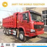 Sinotruk HOWO 371HP 6X4 덤프 트럭 팁 주는 사람 트럭