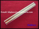 Heißes Verkaufs-Gold beschichtetes fixiertes Silikon-Quarz-Glasgefäß