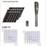 大きい太陽エネルギーの池の水ポンプDC 1850ワットの
