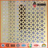 Painel composto de alumínio da melhor estaca à prova de fogo do CNC de Ideabond da qualidade