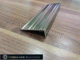 양극 처리된 색깔을%s 가진 알루미늄 단면도 층계 Tead