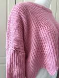 봄을%s 작풍 스웨터 스웨터가 2018의 새로운 디자인 여자의 큰 소매에 의하여 누전하거나 도매로 떨어진다