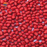 PP de plástico de color rojo Masterbatch de hilo