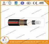 175 nível 100% da isolação do cabo de mil. Tr-XLPE 15 quilovolts Urd com o certificado UL1072