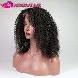 Плотность волосяного покрова 150 перуанских Jerry курчавых париков естественная