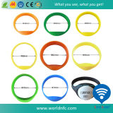 Wristband силикона водоустойчивый RFID Кодего Ntag213 Qr