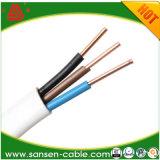 Hochwertiges kupfernes twisted- pairelektrisches kabel Kern BV-BVVB Bvr Belüftung-Insulatied