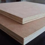 Tarjeta del pegamento de la melamina de la tarjeta de la construcción de la madera contrachapada del temporizador