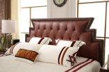 침대 머리를 가진 중국 Shunde 가구 연약한 가죽 침대는 Jbl2016를 디자인한다