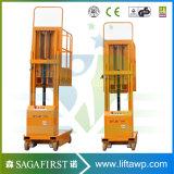 Antenne verticale électrique Oderpicker de plate-forme de levage de soudure de contrôle de panneau de pied